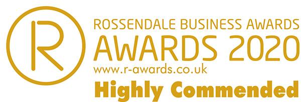 Rossendale Buisiness Awards 2020 Logo - Highly Commended
