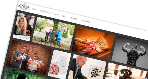 New website for Liz Henson Photography