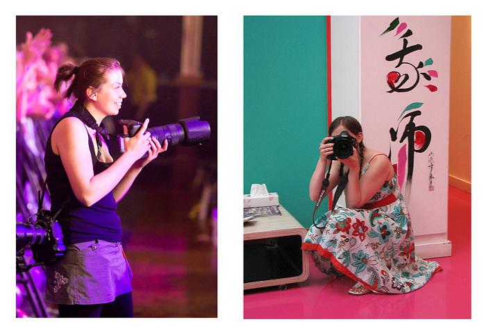 Liz Henson Photography in Action